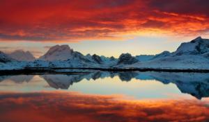 俄罗斯贝加尔湖美丽的大自然风景图片
