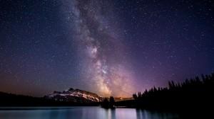 浩瀚神秘星空银河图片素材高清壁纸