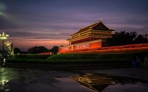 庄严肃穆的北京天安门