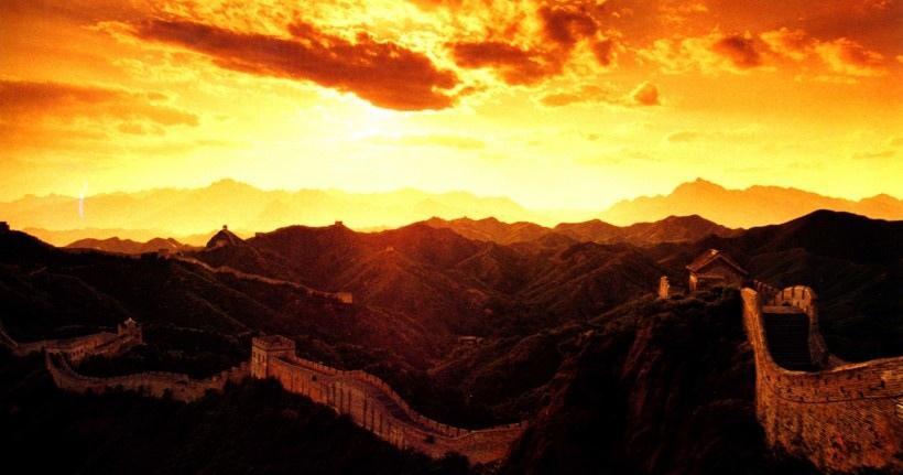 中国风长城风景