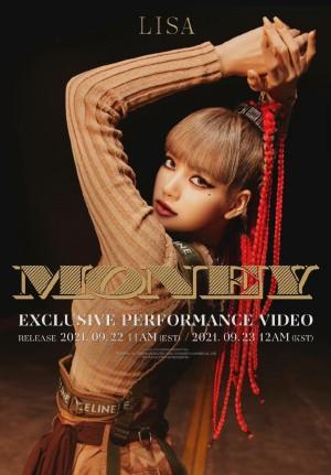 Lisa《MONEY》单曲预告海报图片