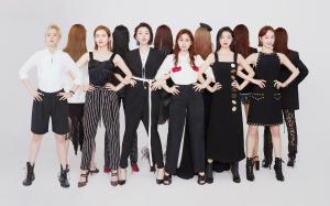 《创造101》小姐姐们为《红秀Grazia》拍摄的时尚大片