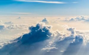 高空中的迷人云海
