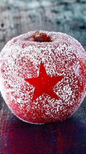平安夜苹果美好祝福清新图片壁纸