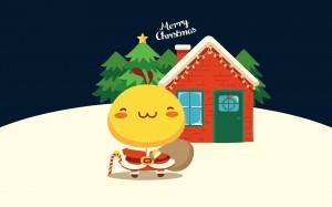 油爆叽丁快乐过圣诞
