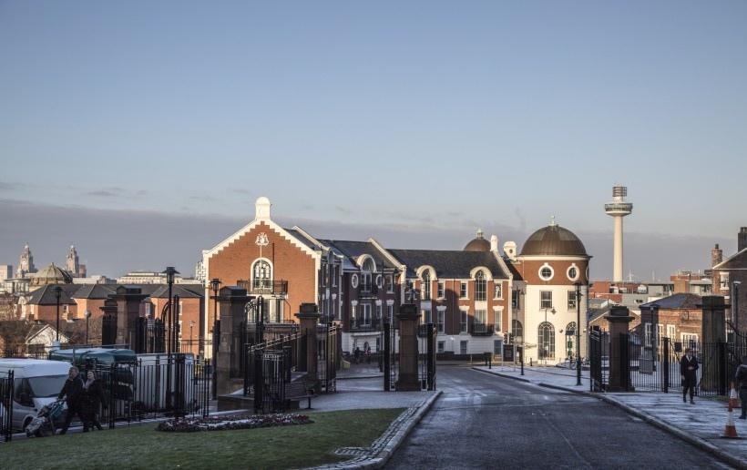 英格兰利物浦建筑风景写真
