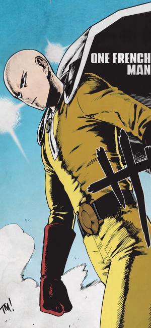 日本连载漫画《一拳超人》酷炫高清手机壁纸