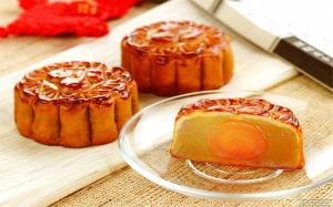 中秋节月饼美食高清图片