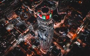 唯美迷人城市夜景图片壁纸