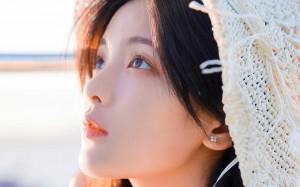 元气女神杨超越青春可爱元气白嫩户外写真
