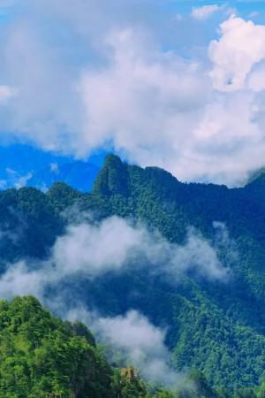 神农架林区风景图片