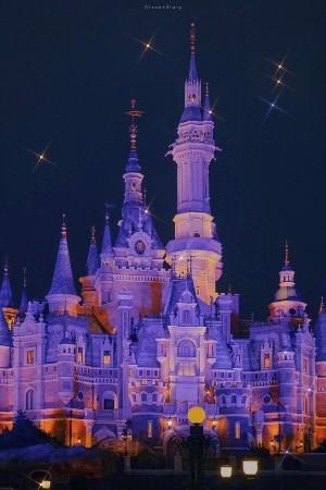 迪士尼唯美灯光秀