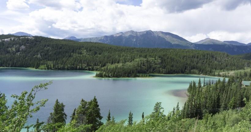 美国阿拉斯加冰川风景图片