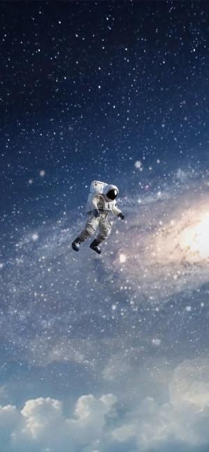 太空人创意个性高清手机壁纸