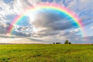 绚丽彩虹桌面壁纸