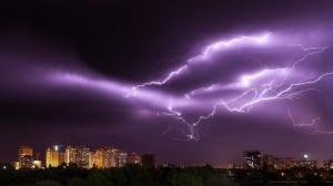 恐怖又唯美的雷电图片