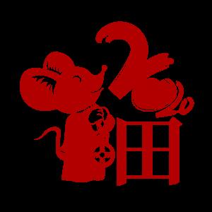 鼠年2020福字创意艺术字