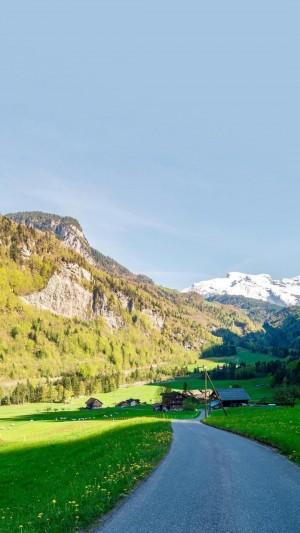瑞士清新秀美田园风光