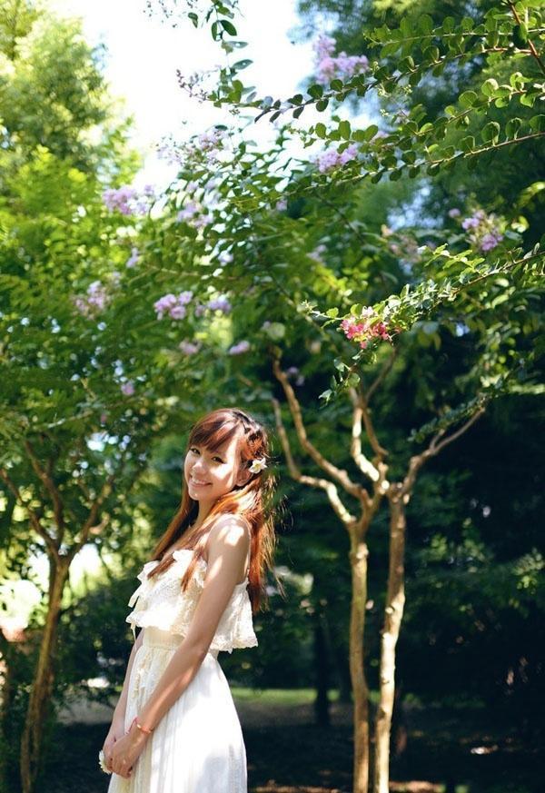 清爽夏天的纯美少女写真
