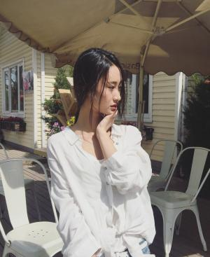 马泽涵清纯写真图片