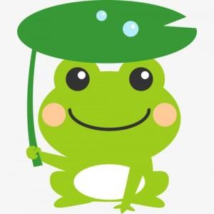 青蛙卡通手机高清壁纸