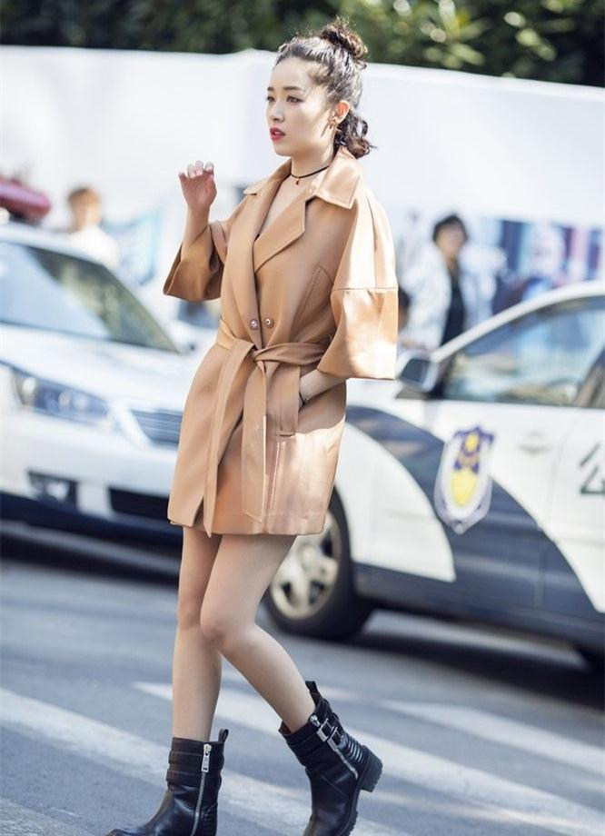 阚清子户外时尚酷帅街拍