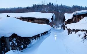 二十四节气之小雪风景电脑壁纸