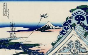 富岳三十六景浮世绘高清桌面壁纸第三辑