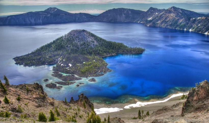 美国火山湖国家公园