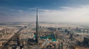 迪拜塔壮观风景高清桌面壁纸