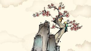 简约淡雅中国风绘画作品欣赏图集