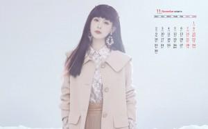 2020年11月李一桐时尚优雅写真日历壁纸