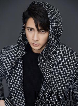 吴尊时尚杂志写真图片