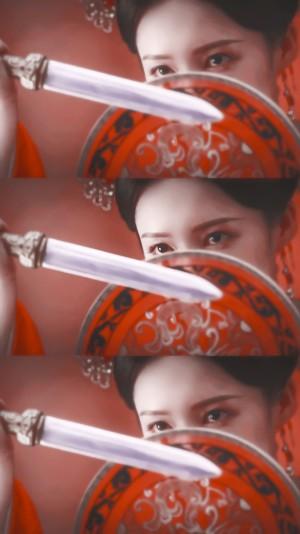 李沁《锦绣南歌》红嫁衣优雅剧照图片