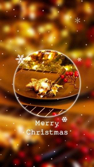 圣诞节快乐英文创意唯美图片壁纸