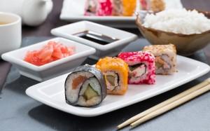 精致寿司图片让人食欲大开