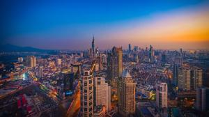 南京城市风景图片