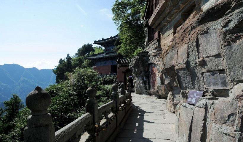 湖北十堰武当山风景写真图片