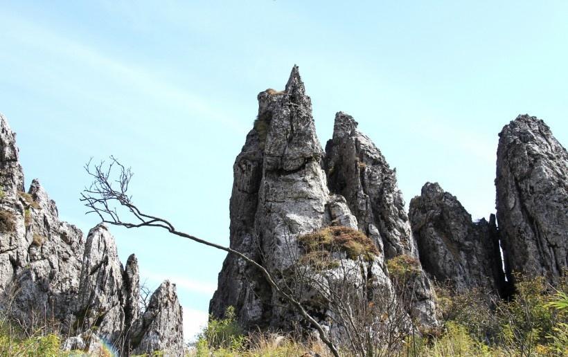 湖北神农架板壁岩风景