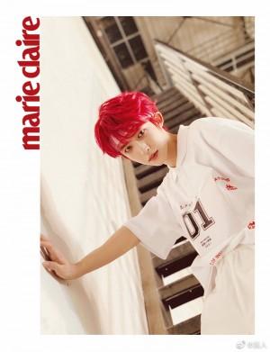 刘宇休闲运动装少年活力写真图片