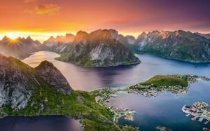 清新秀丽大自然风景图片桌面壁纸