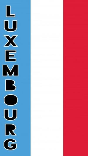 2020东京奥运会卢森堡旗帜