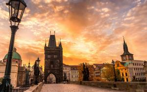 唯美欧洲城市风景桌面壁纸图片