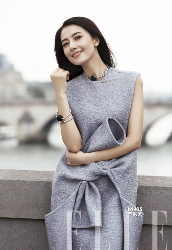 高圆圆时尚杂志演绎时髦都市风写真