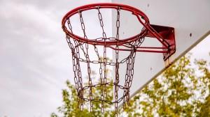 高清唯美篮球框图片