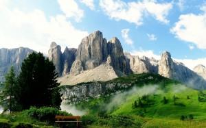 享受秀美的自然景色