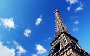 法国世界闻名建筑埃菲尔铁塔