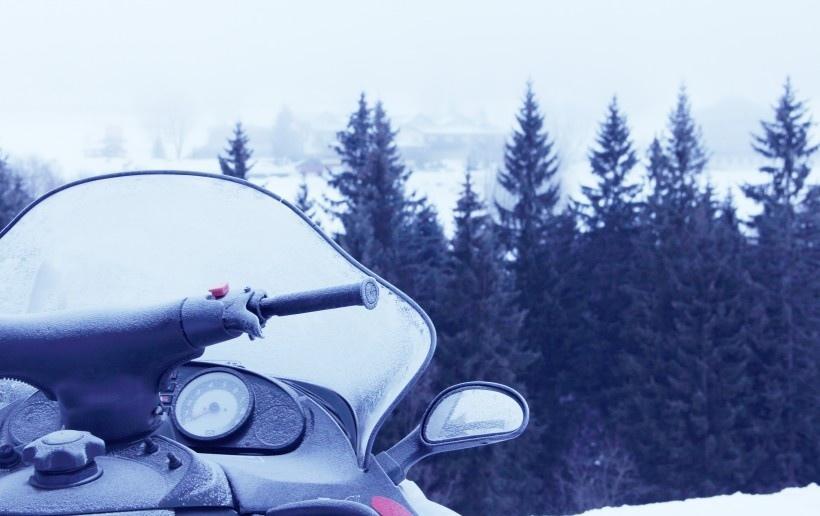 自然雪景风景