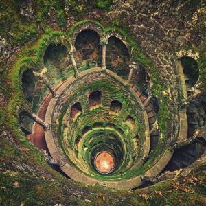 葡萄牙,辛特拉井 —— 一口神秘的没有水的井