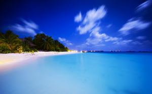 马尔代夫高清海岛风景桌面壁纸